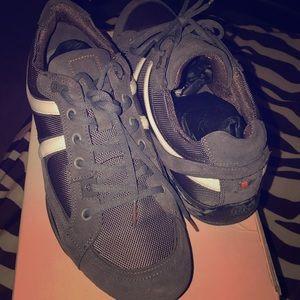 Men's Hugo Boss Orange Quinby 1 shoes